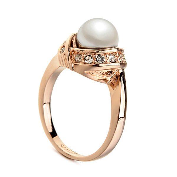 Кольцо с кристаллами Swarovski Скарлетт
